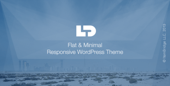 LightDose Flat & Minimal WordPress Theme
