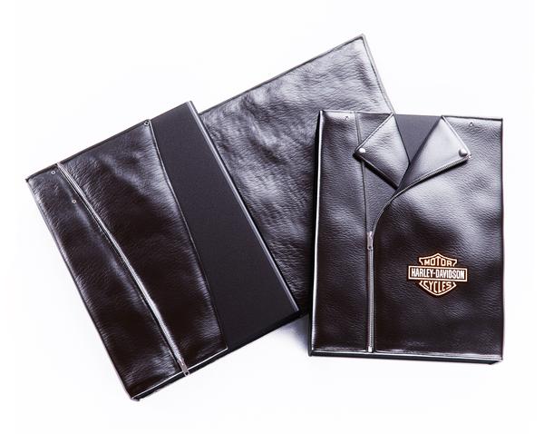harley-davidson-brochure-leather-cover