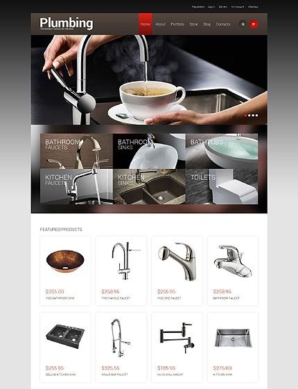 49243- Plumbing Store WooCommerce Theme