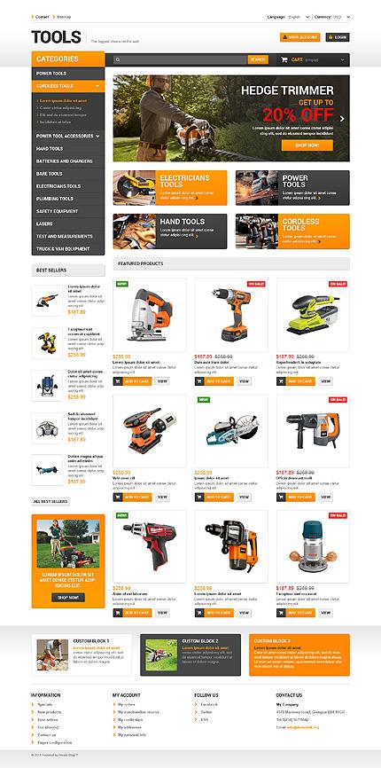 Template 47799 - Tools Store Responsive PrestaShop Theme