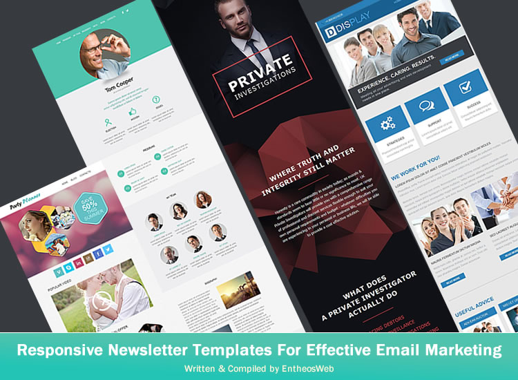 Responsive Newsletter Templates For Effective Email Marketing