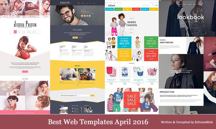 Best Web Templates april 2016
