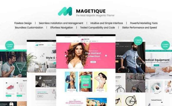 Template 62000 - Magetique Magento Responsive Magento Theme
