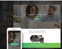 Intense Multipurpose Responsive Bootstrap Website Template