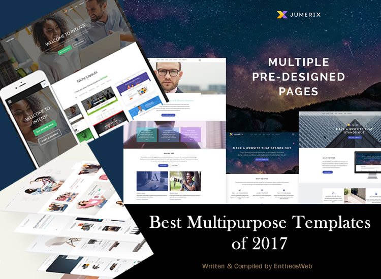 Best Multipurpose Templates of 2017