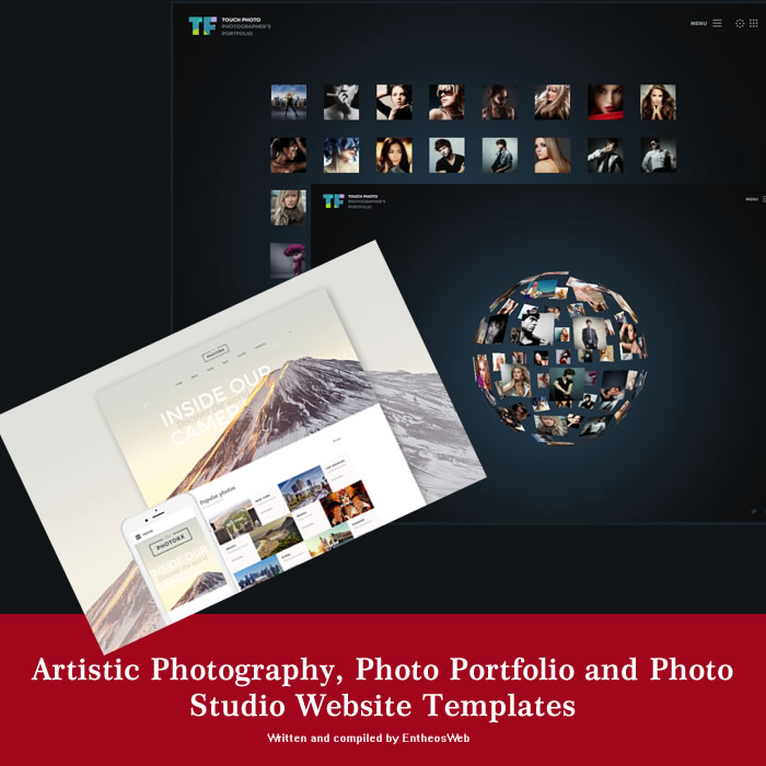 Photo Studio Website Templates