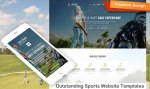 Outstanding Sports Website Templates