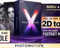 Create 3D Animations on Any Photo in After Effects With Photomotion X – The Biggest Photo Animation Toolkit (5 in 1)