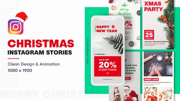 Christmas Instagram Video Animated Stories