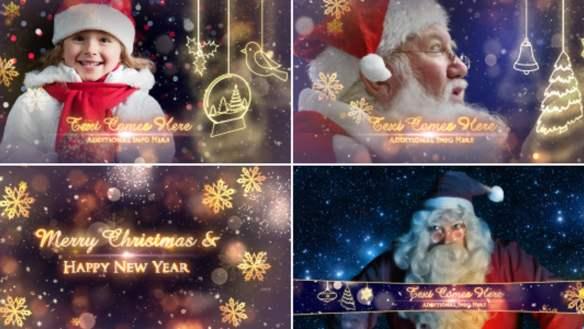 Christmas Animated Video Template