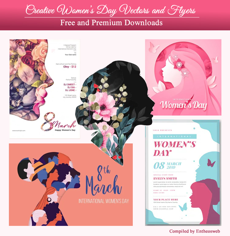 Creative Women's Day Vectors and Flyers - Free and Premium Downloads
