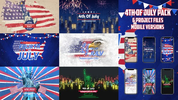 4th of July Video Pack