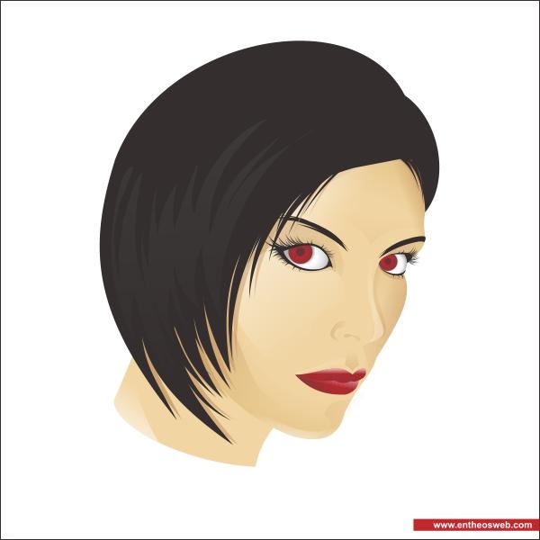 female graphic design