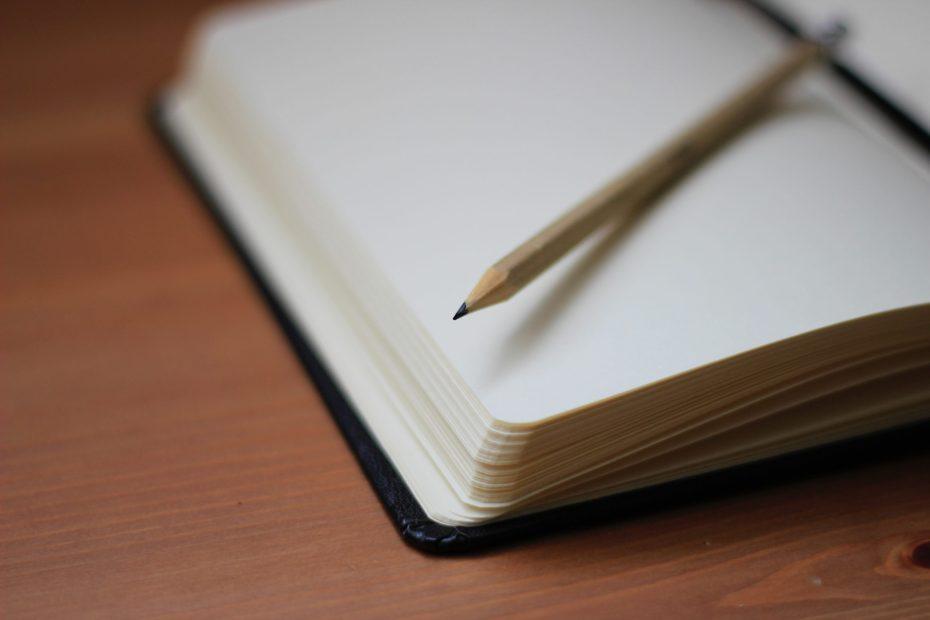 Bloquinho de notas para gerir entregas