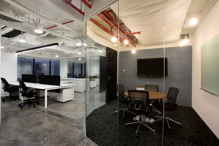 Office space meeting room