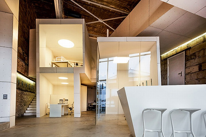 industrial office space. [via] Industrial Office Space P