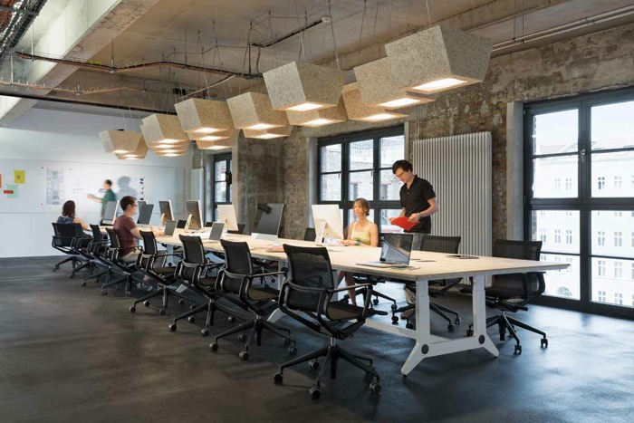 soundcloud s impressive hq in berlin eoffice coworking office design workplace technology. Black Bedroom Furniture Sets. Home Design Ideas