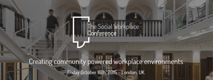 Workplace social conference