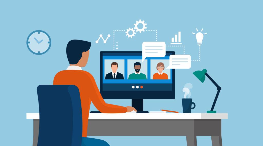virtual work leadership