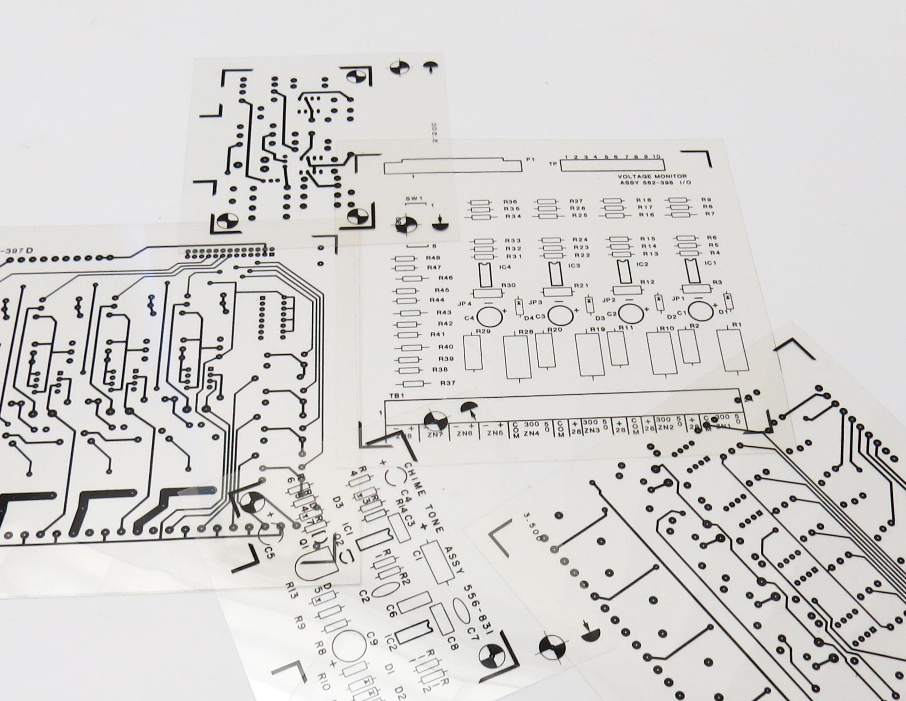 printed circuit board transfer film