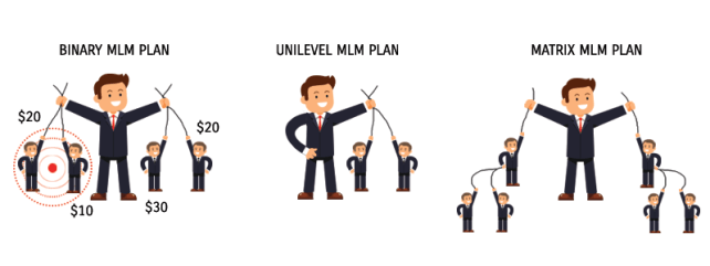 MLM Plan comparative study