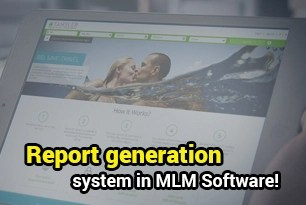 Report generation system in MLM Software!