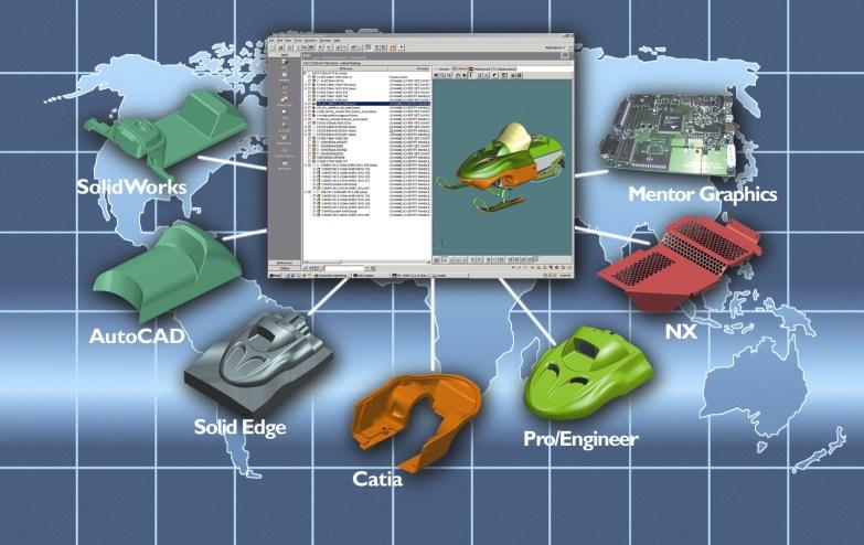 Teamcenter Multi-CAD rendszer