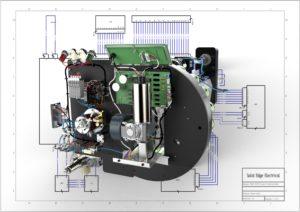 Solid Edge 2019 + PCB = elektromechnaikai terv
