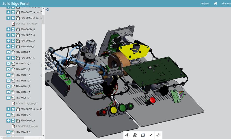 Solid Edge Portal képernyőkép 2