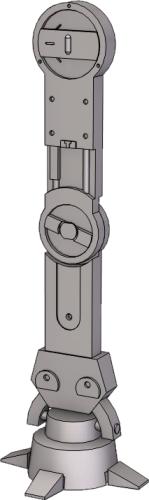 Birodalmi Lépegető láb CAD modell