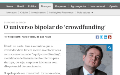 O universo bipolar do crowdfunding