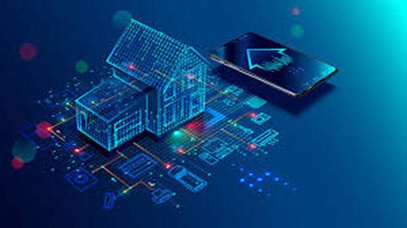 Internet das Coisas: imagem de casa conectada