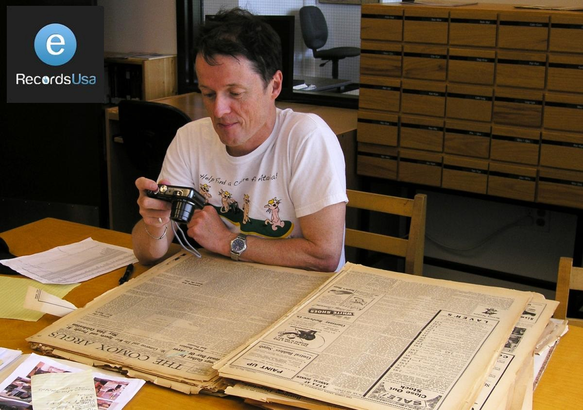 Historical Document Imaging Services