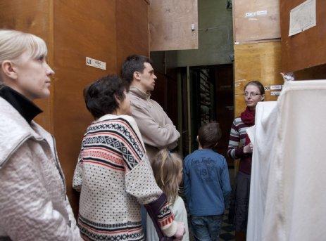 ekskursioon kogude osakonnas