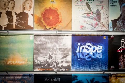 """Eesti muusika jukebox. Näitus """"Vabaduse lood"""" Vapriikki muuseumikeskuses Tamperes"""