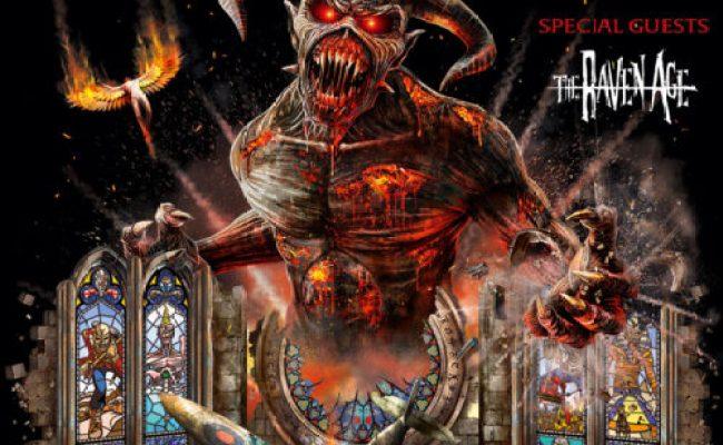 Metal Monday Iron Maiden Metallica The Raven Age And