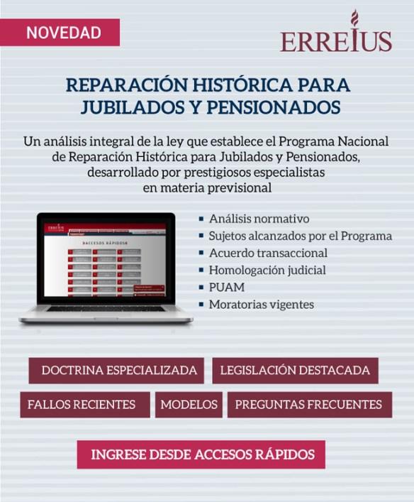 EXCLUSIVO SUSCRIPTORES: Reparación Histórica para jubilados y pensionados