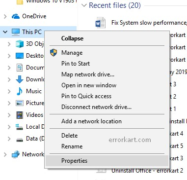 Fix: System slow performance, computer freezing in Windows