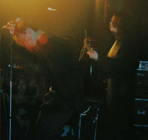 Xue Wei, performing at Maxim's, Beijing, 1993. Photo courtesy of Colin Siyuan Chinnery.