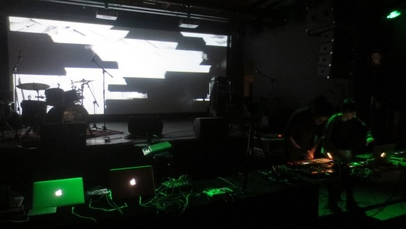 17 February 2017 Sheng Jie and Zafka performing at Pixel Echo 2017, at Yue Space, Beijing