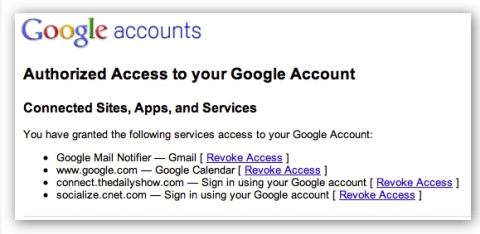 Google access revoke