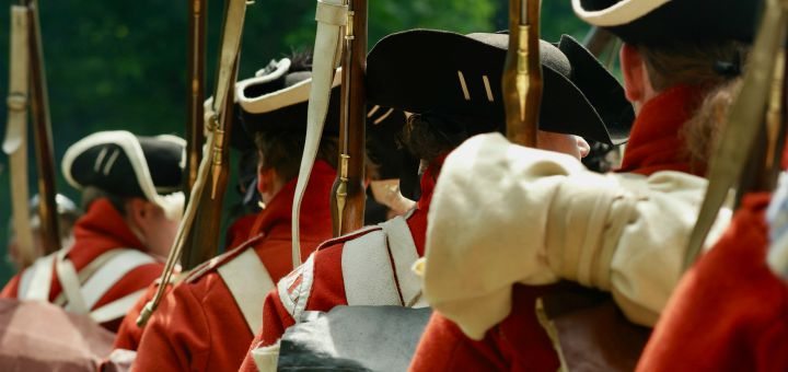 british soldiers redcoats