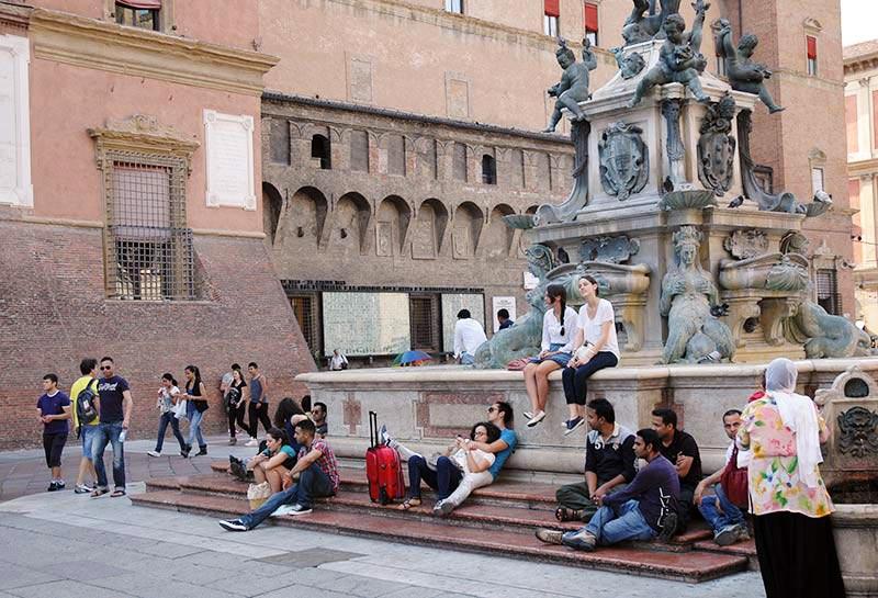 Bologna-piazza