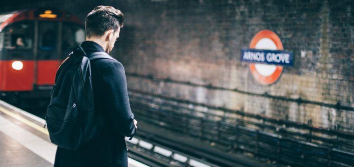 london underground man