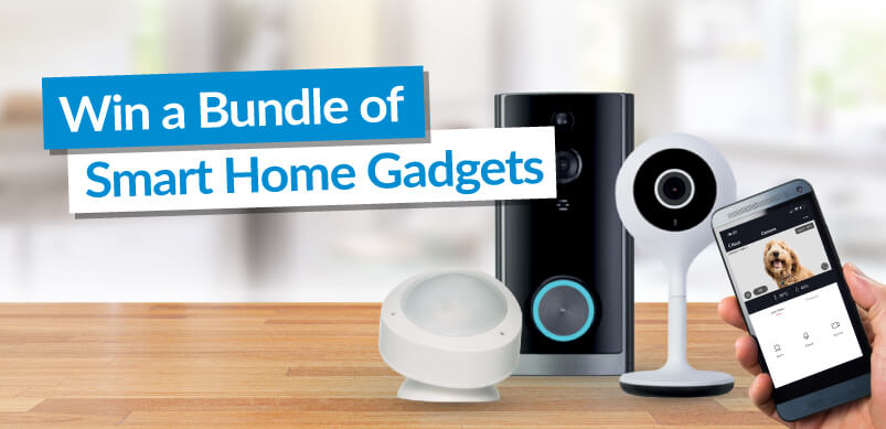 Win A Bundle Of Smart Home Gadgets