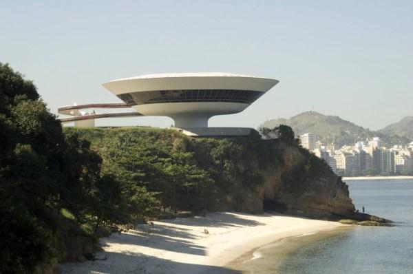 Oscar Niemeyer Rio Museum of Art In