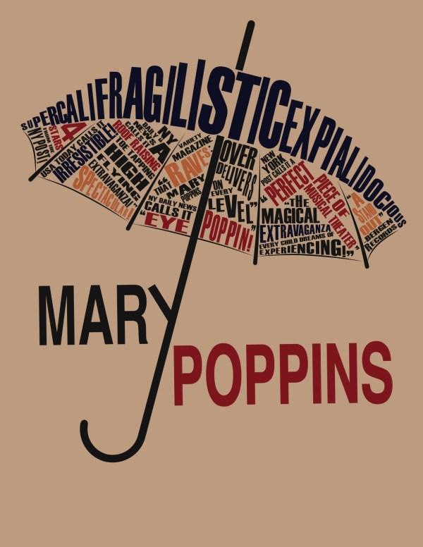 Paula Scher Mary Poppins