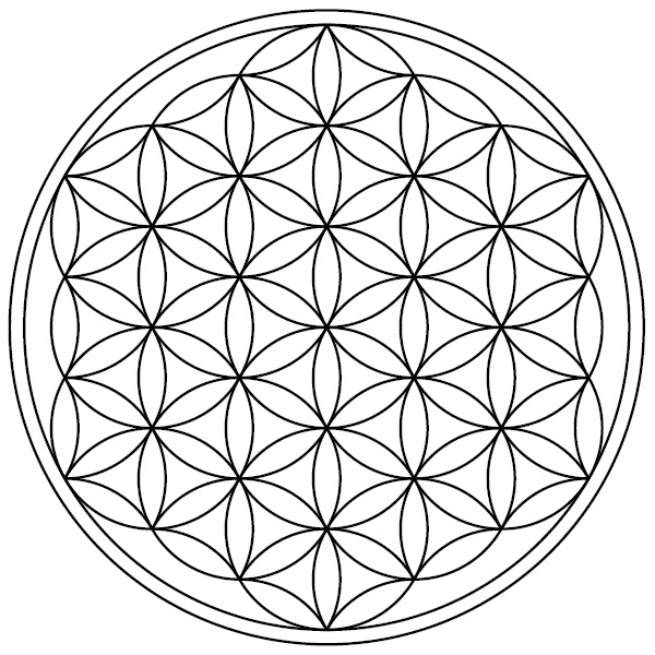 The Seed of Life and the Vesica Piscis