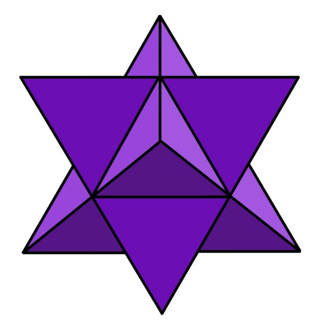 Purplestellatedoctahedron