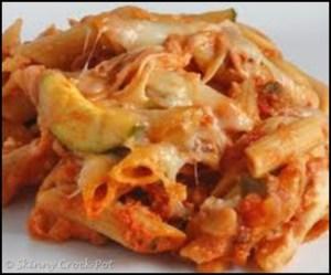 Skinny Zucchini Ziti